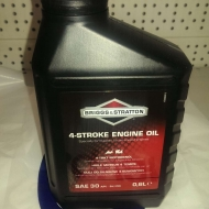 Моторное масло для 4-х тактных двигателей 0.6 л (BRIGGS&STRATTON)