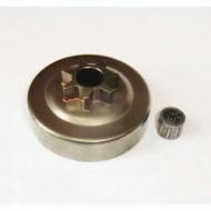Барабан сцепления для бензопилы Husqvarna 137/142 литой (Saber)